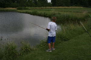 Fishing at Ridgedale